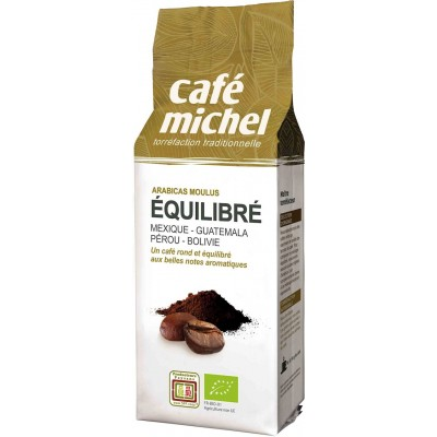 KAWA MIELONA ARABICA 100% PREMIUM EQUILIBRE FAIR TRADE BIO 250 g - CAFE MICHEL